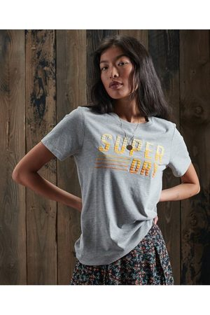 Superdry Limited Edition Embroidery Fade T-Shirt