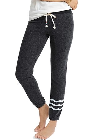 SOL ANGELES Women Sweatpants - Hacci Waves Slim Joggers