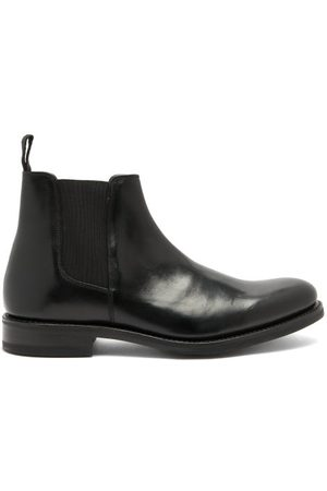 GRENSON Men Chelsea Boots - Declan Leather Chelsea Boots - Mens