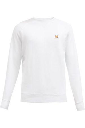 Maison Kitsuné Men Sweatshirts - Fox Head Cotton-jersey Sweatshirt - Mens