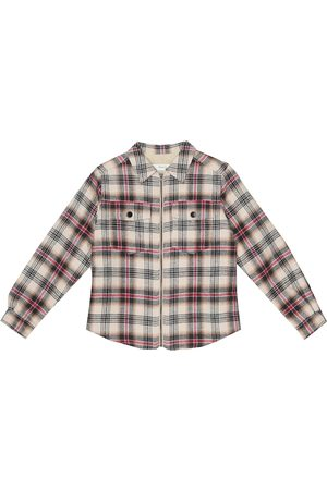 BONPOINT Farwest checked cotton-twill jacket