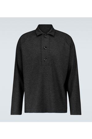 Winnie Oversized long-sleeved polo shirt