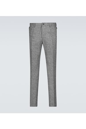 Dolce & Gabbana Houndstooth wool pants