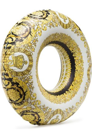 VERSACE Baroque-print inflatable ring