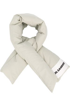 Jil Sander Feather down scarf - Neutrals