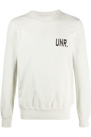 Unravel Project Logo print sweatshirt - Neutrals