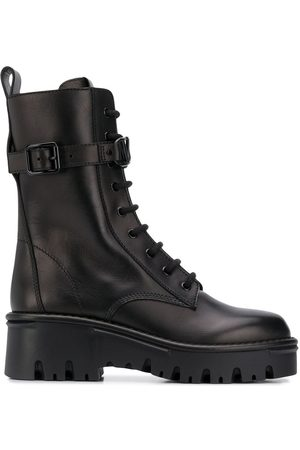 VALENTINO GARAVANI Lace-up military boots