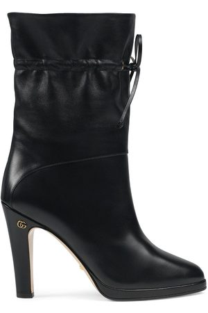 Gucci Drawstring-tie ankle boots