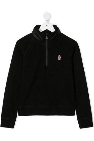 Moncler Boys Long sleeves - Long sleeve padded collar jumper