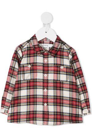 BONPOINT Plaid cotton shirt