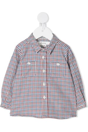 BONPOINT Mico gingham check shirt
