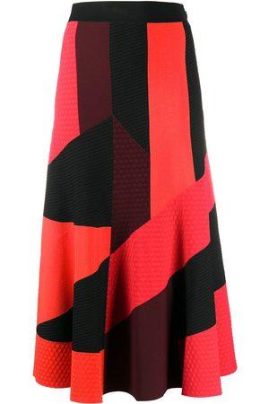 Alexander McQueen Panelled mid-length skirt