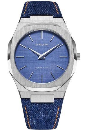 D1 MILANO Denim Ultra Thin 40mm watch