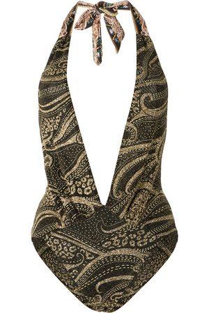 Camilla Women Beachwear - Plunge V-neck one piece