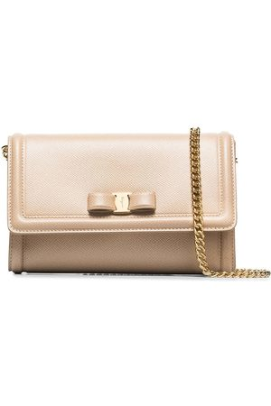 Salvatore Ferragamo Pelletria leather mini bag - Neutrals