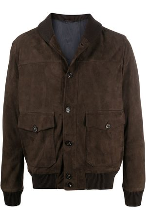 ELEVENTY Brushed nubuck jacket