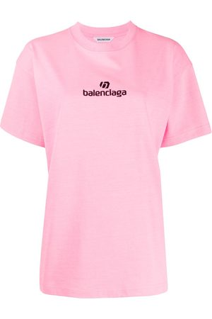 Balenciaga Embroidered logo T-shirt