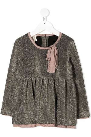 Caffe' D'orzo Loretta metallic blouse