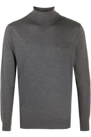 Dsquared2 Turtleneck wool jumper - Grey