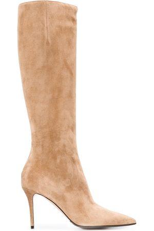 LE SILLA Eva knee-length boots - Neutrals