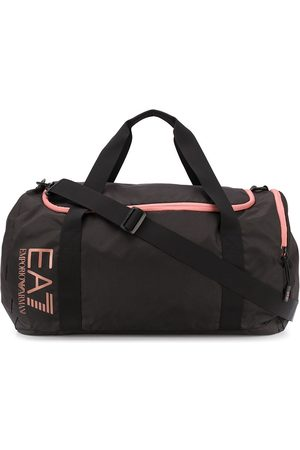 EA7 Men Travel Bags - Logo print holdall