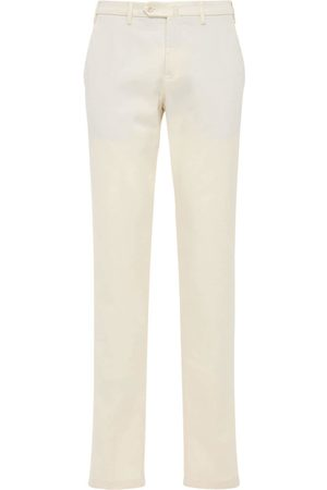 Loro Piana Men Stretch Pants - 18cm Soft Stretch Cotton Pants