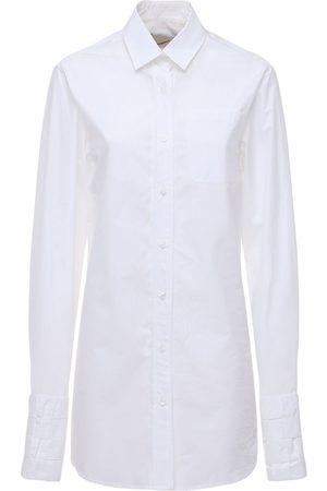 COPERNI Woven Cotton Longline Shirt
