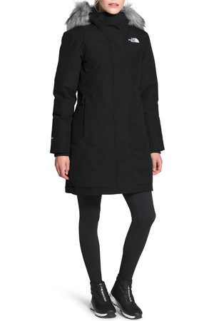 The North Face Women's Arctic Waterproof 550-Fill-Power Down Parka With Faux Fur Trim