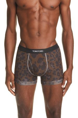 Tom Ford Men's Leopard Print Boxer Briefs
