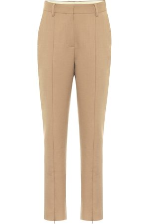 MM6 MAISON MARGIELA Zipped high-rise slim fit pants
