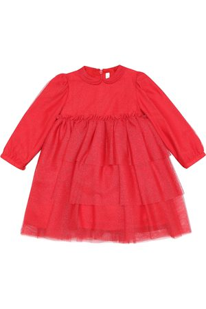 Il gufo Baby tulle dress
