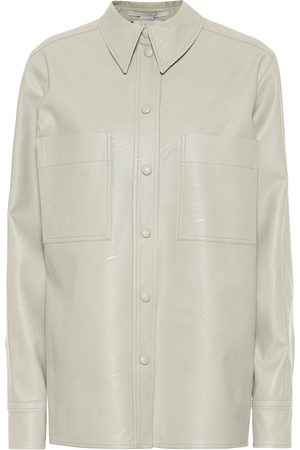 Stella McCartney Faux leather shirt