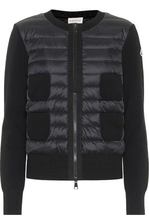 Moncler Virgin wool and down jacket