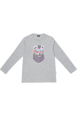 Il gufo Boys Tops - Printed cotton top