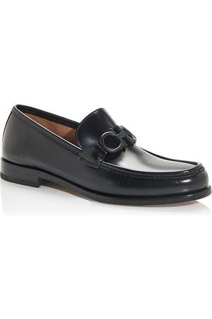 Salvatore Ferragamo Men's Rolo Moc Toe Loafers - Narrow