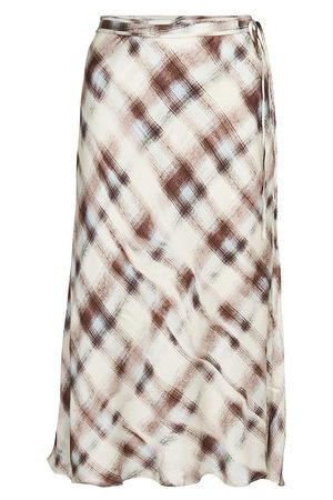 PROENZA SCHOULER WHITE LABEL Charmeuse midi skirt