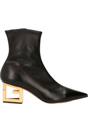 Givenchy Triangle leather boots