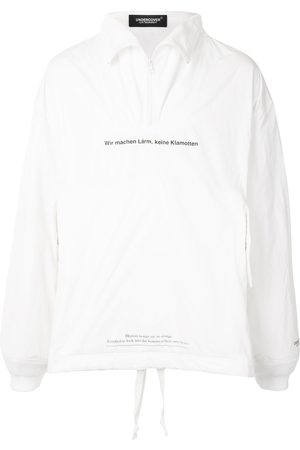 UNDERCOVER Slogan-print windbreaker