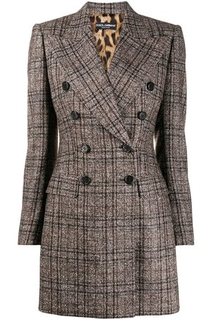 Dolce & Gabbana Checked tartan double-breasted jacket