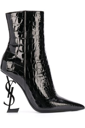 Saint Laurent Opyum 110mm ankle boots