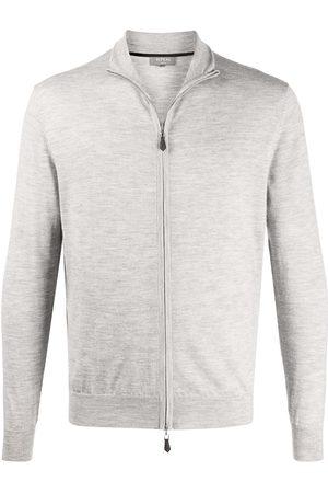 N.PEAL Spread collar cardigan - Grey