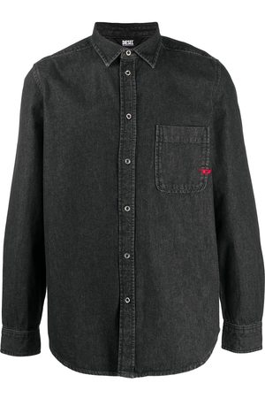 Diesel Logo denim shirt