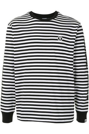 AAPE BY *A BATHING APE® Striped long-sleeved top