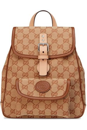 Gucci Children's GG backpack - Neutrals