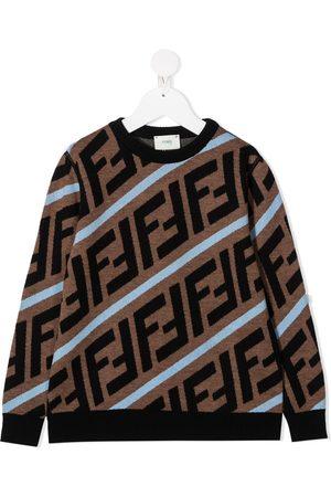 Fendi FF intarsia jumper