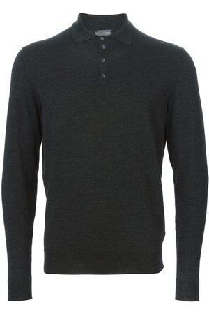 Drumohr Men Polo Shirts - Polo sweater - Grey