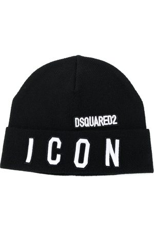 Dsquared2 Beanies - TEEN Icon patch beanie