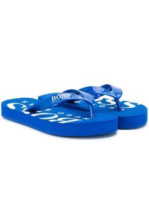 HUGO BOSS Boys Flip Flops - Printed flip flops