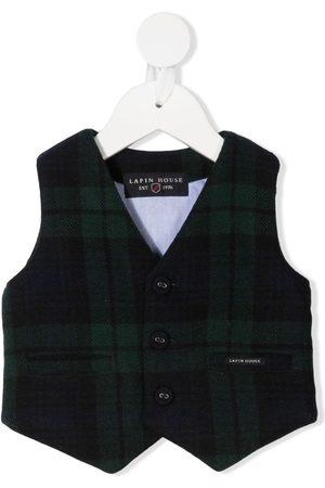 Lapin House Waistcoats - Tartan wool waistcoat