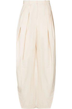 Rosie Assoulin Side split palazzo trousers - Neutrals